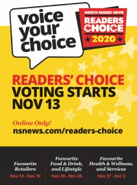 Voting Open- North Shore Reader's Choice