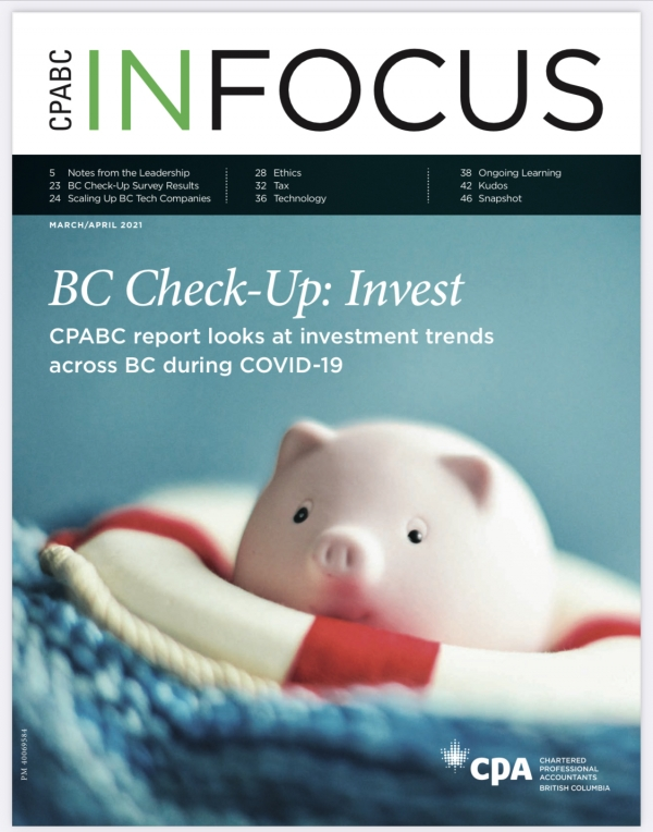 "CPA BC ""In Focus"" Magazine"
