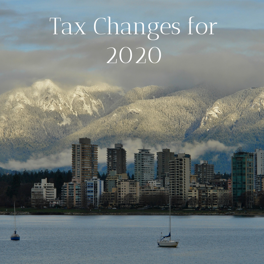 Tax Changes for 2020