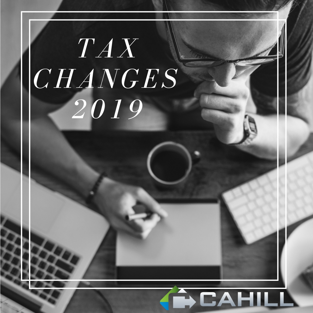 New Tax Changes for 2019