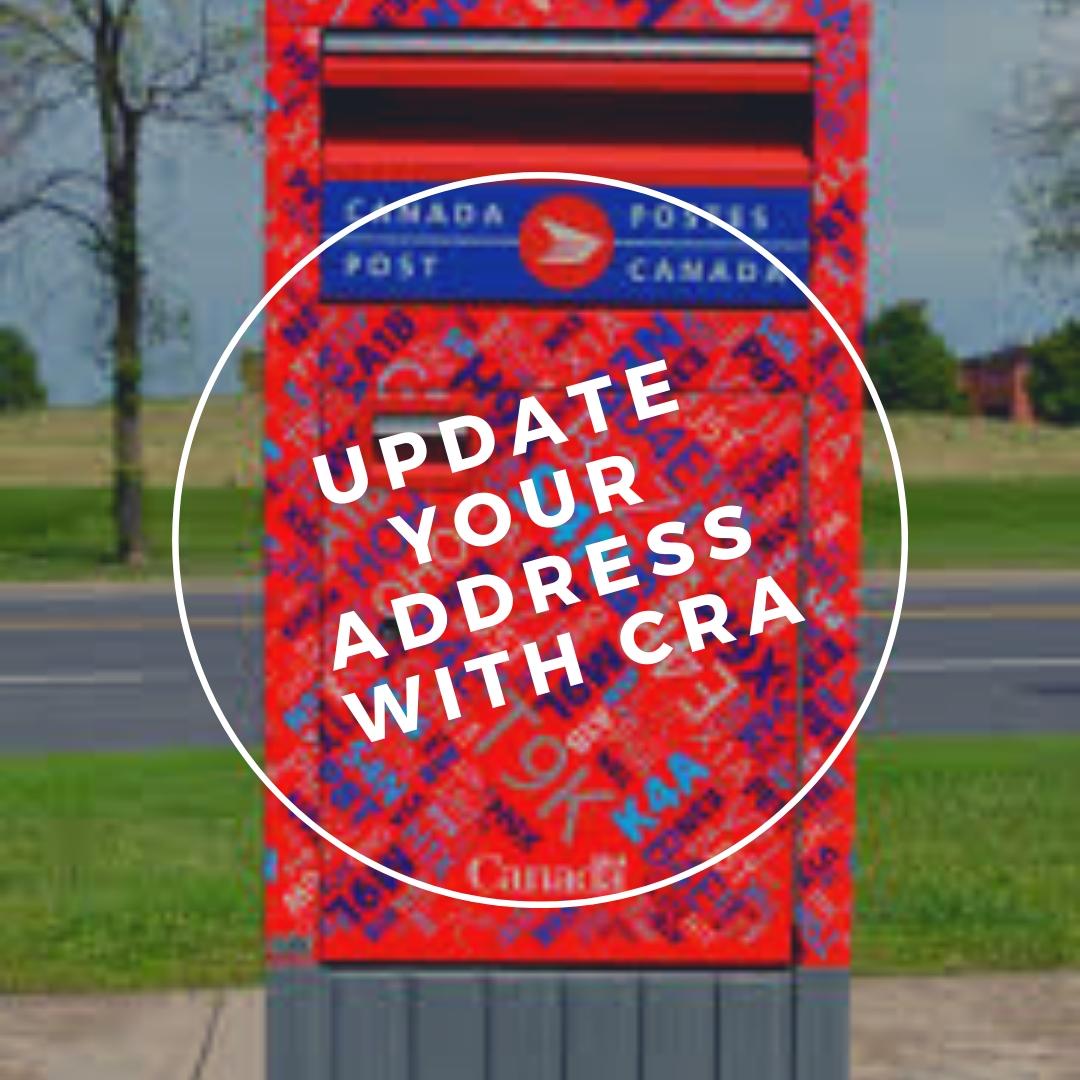 Change your Address with CRA